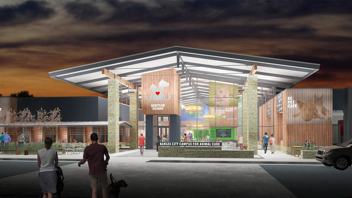 New KC Pet Project Animal Shelter