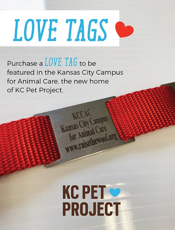 Love Tags - KC Pet Project